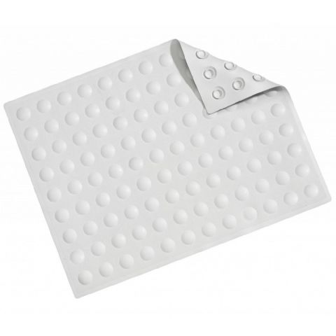 Croydex Large White Double Sucker Shower Mat